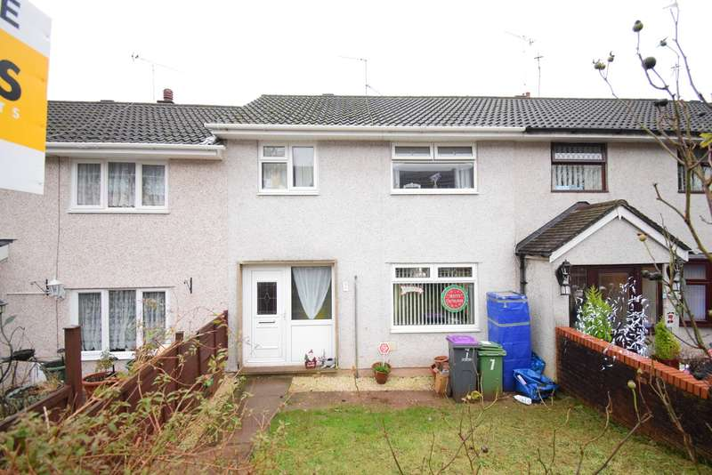 3 Bedrooms Terraced House for sale in Churchwood Road, Pontnewydd, Cwmbran, NP44