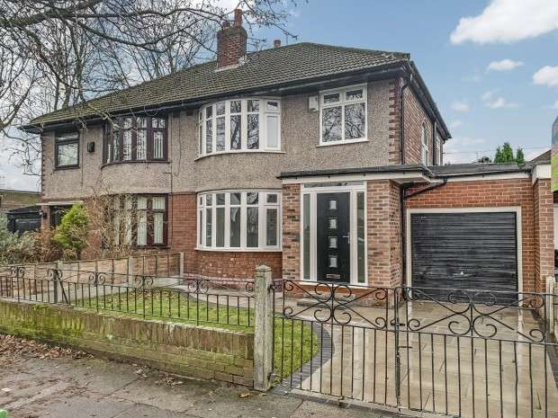 3 Bedrooms Semi Detached House for sale in Leyfield Road, West Derby, L12