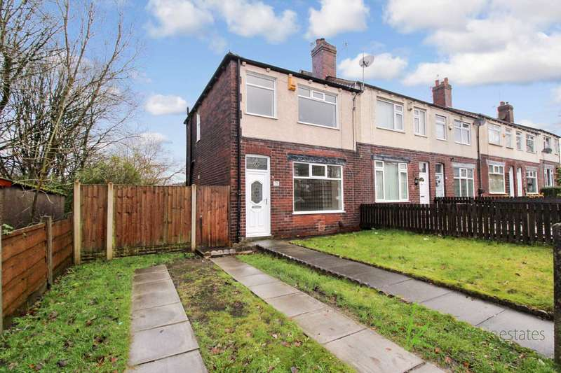 2 Bedrooms End Of Terrace House for sale in Captains Clough Road, Bolton