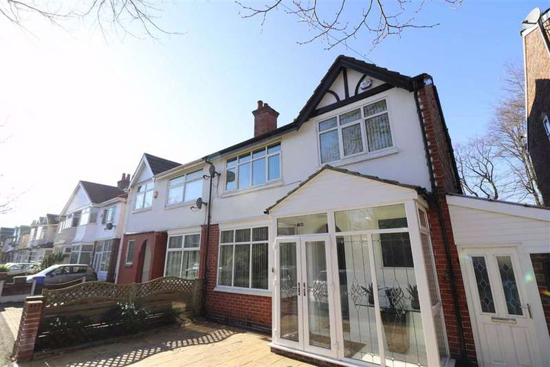 6 Bedrooms Semi Detached House for sale in Park Drive, Whalley Range, Manchester, M16