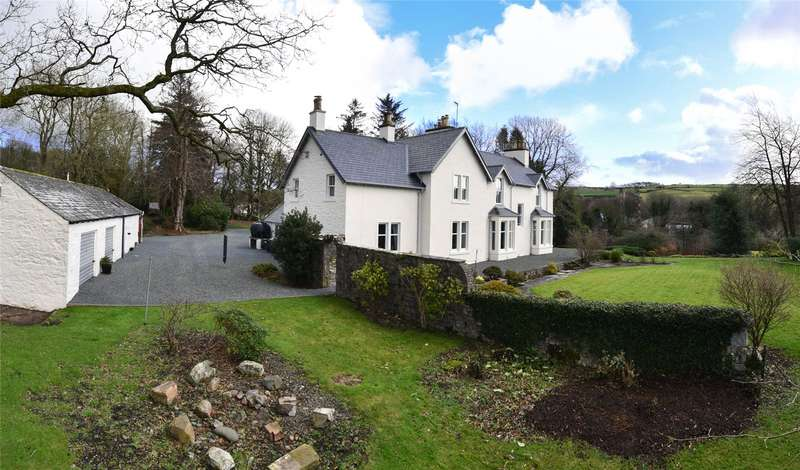 5 Bedrooms Detached House for sale in Mansewood House & Cottage, Tongland, Kirkcudbright, Dumfries and Galloway, South West Scotland, DG6