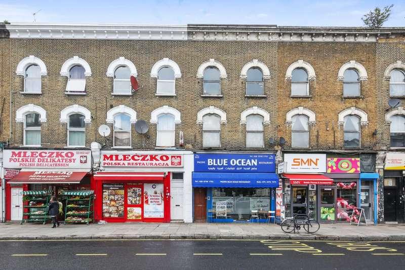2 Bedrooms Flat for sale in Uxbridge Road, Shepherds Bush, London W12 7LL