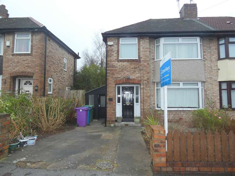 3 Bedrooms Semi Detached House for sale in Glendevon Road, Childwall, Liverpool