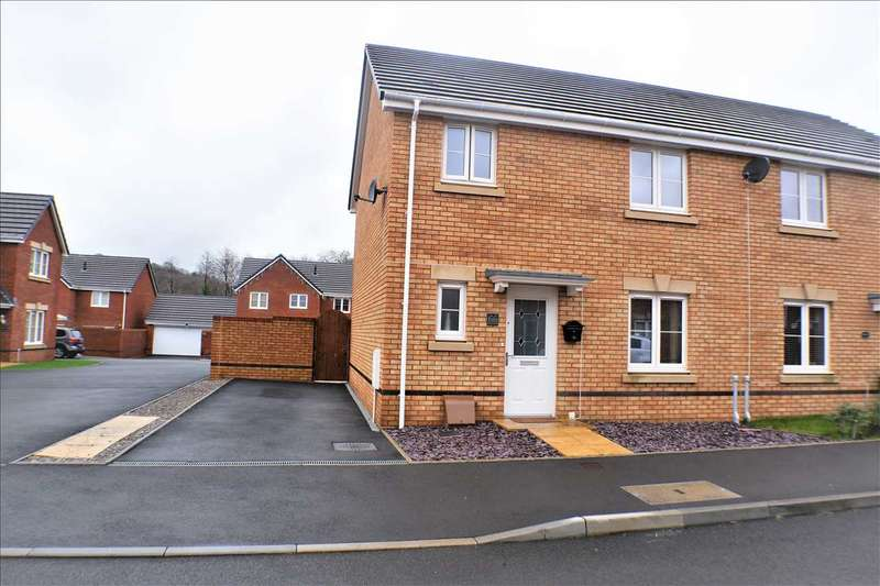 3 Bedrooms Semi Detached House for sale in Worcester Court, Tonyrefail