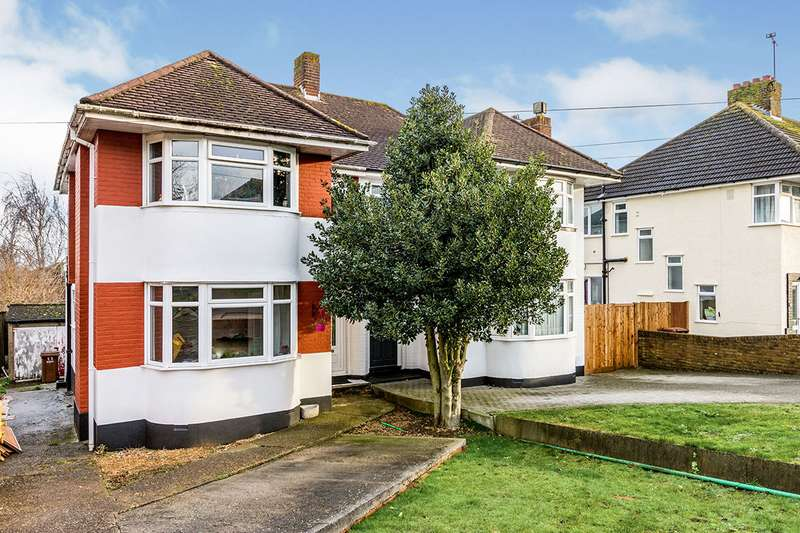 3 Bedrooms Semi Detached House for sale in Greenway, Chatham, Kent, ME5