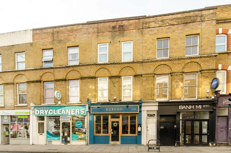 3 Bedrooms Flat for sale in Stoke Newington Church Street, Stoke Newington, N16