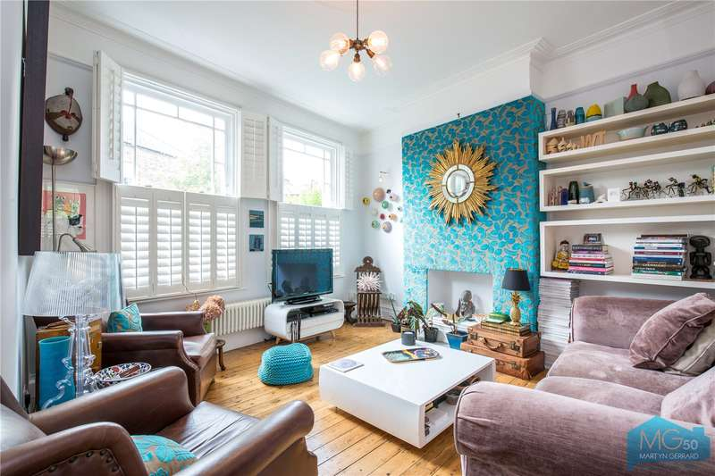 4 Bedrooms Terraced House for sale in Abbeville Road, Crouch End, London, N8
