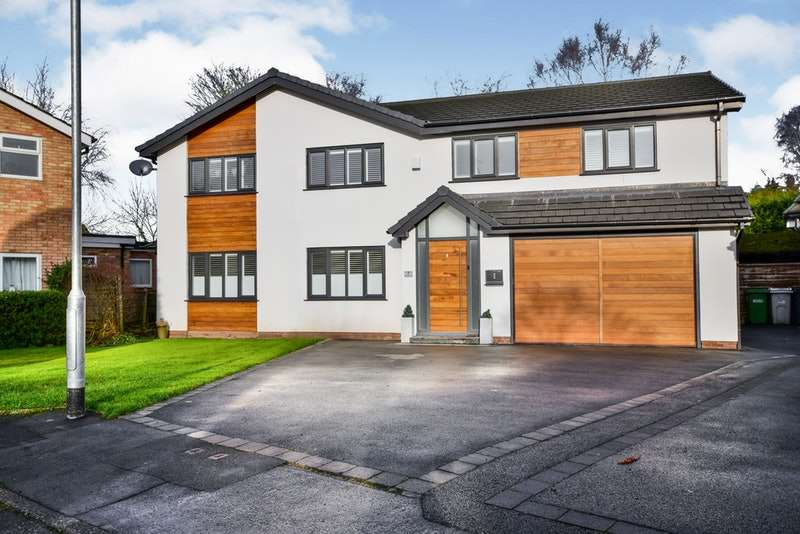 5 Bedrooms Detached House for sale in Manor Gardens, Wilmslow, Cheshire, SK9
