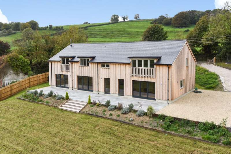 5 Bedrooms Detached House for sale in Lower Farm, Plush, Dorchester, Dorset, DT2