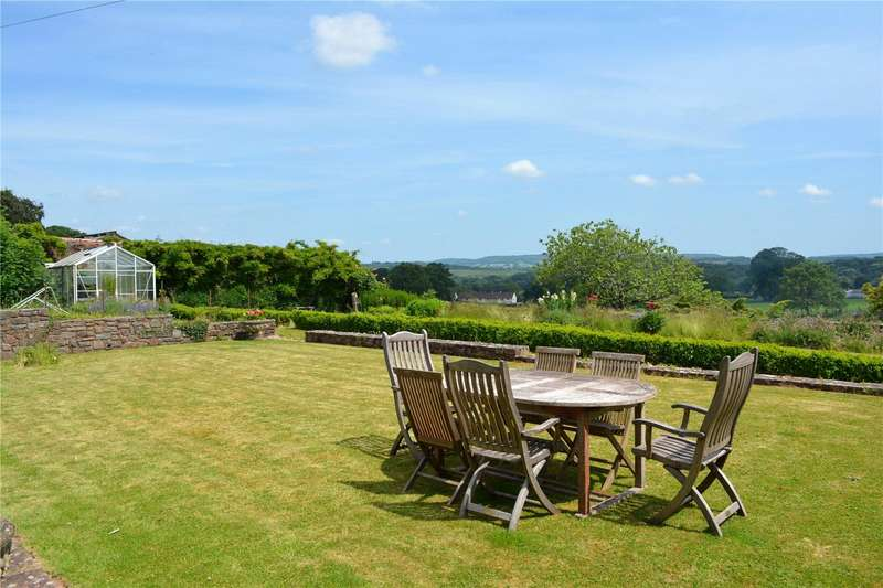 5 Bedrooms Detached House for sale in Ford House, Holcombe Rogus, Wellington, Devon, TA21