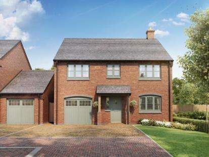 4 Bedrooms Detached House for sale in Laburnum Gardens, High Street, Stoke Golding, Nuneaton
