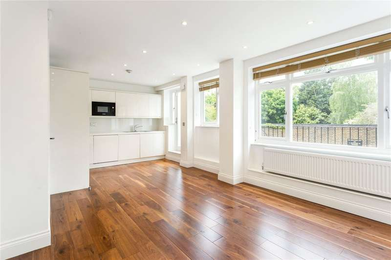 2 Bedrooms Flat for sale in Hogarth Court, North End, London, NW3