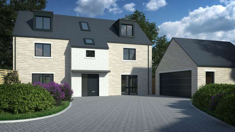 5 Bedrooms Detached House for sale in The Rowan, South Side Ridge, Pudsey Road, Pudsey, West Yorkshire, LS28