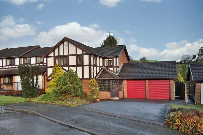 4 Bedrooms Detached House for sale in Brookfield Drive, Bents Farm, Littleborough, OL15 8RH