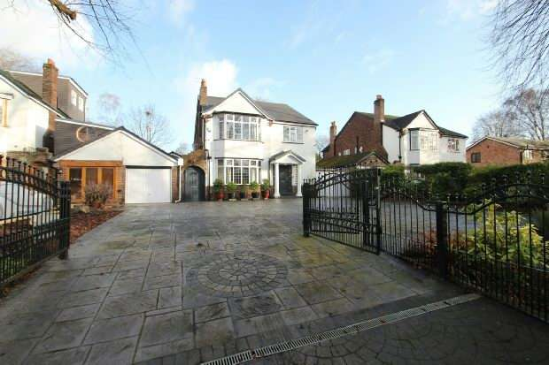 4 Bedrooms Detached House for sale in Brooklands Road, Manchester