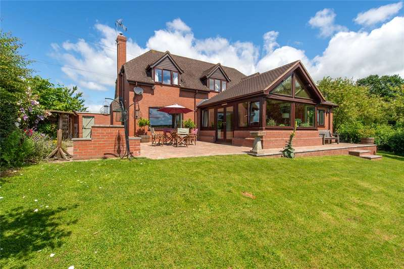 4 Bedrooms Detached House for sale in Bringsty Common, Bringsty, Worcester, WR6