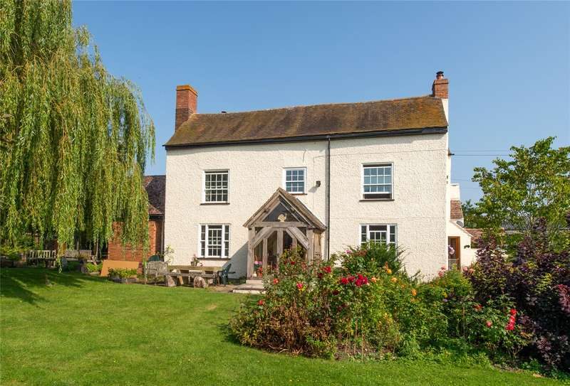4 Bedrooms Detached House for sale in Haselor Lane, Hinton-on-the-Green, Evesham, Worcestershire, WR11