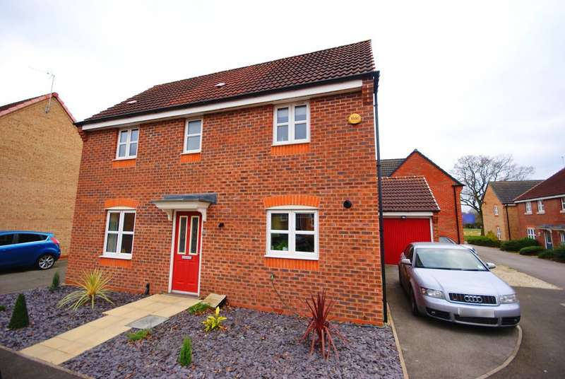 3 Bedrooms Detached House for rent in Lucius Close, North Hykeham LN6