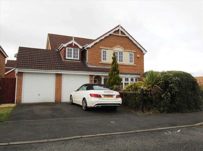 4 Bedrooms Detached House for sale in Longhirst Drive, Southfield Gardens, Cramlington