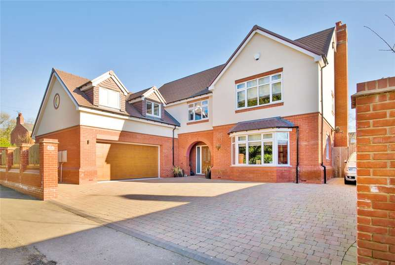 5 Bedrooms Detached House for sale in Linthurst Newtown, Blackwell, Bromsgrove, B60