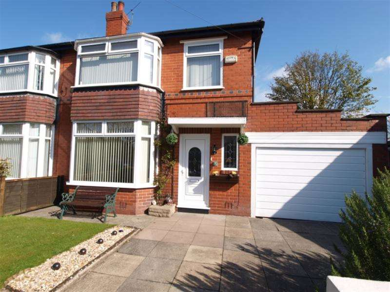 3 Bedrooms Semi Detached House for sale in Bishops Close, Great Lever, Bolton, BL3 2JF