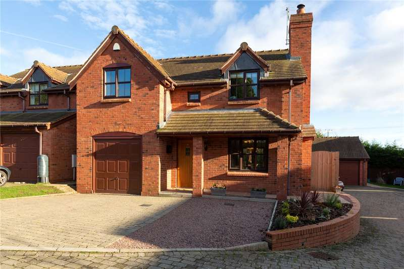 4 Bedrooms Detached House for sale in Oak Lodge, 6 Pensmill Close, Eardiston, Tenbury Wells, Worcestershire, WR15