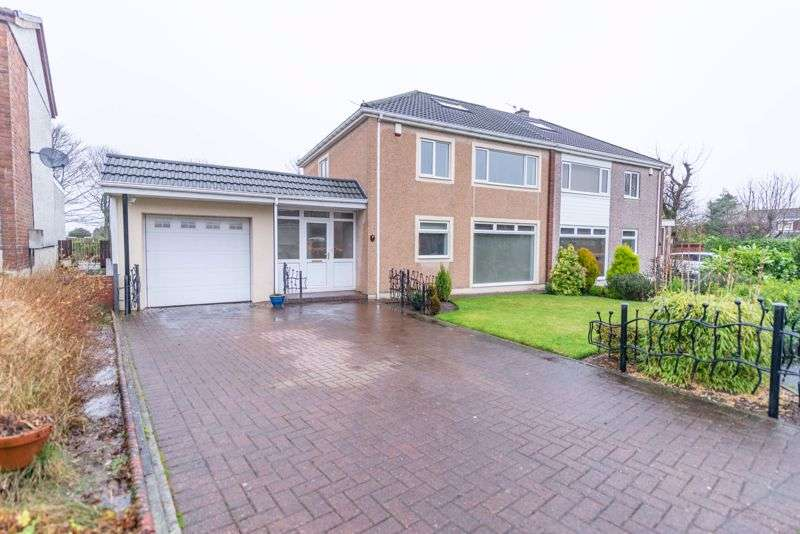 3 Bedrooms Property for sale in Mansewood Crescent, Whitburn, EH47 8HA