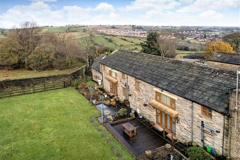 5 Bedrooms Semi Detached House for sale in The Barn, Upper Hoyle Ing, Thornton, Bradford