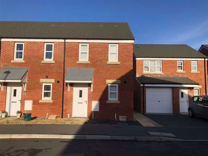2 Bedrooms End Of Terrace House for sale in Dan Y Cwarre, Carway, Kidwelly