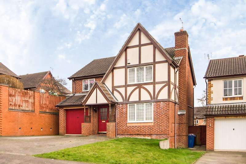 4 Bedrooms Detached House for sale in Hedges Drive, Ilkeston, Derbyshire, DE7
