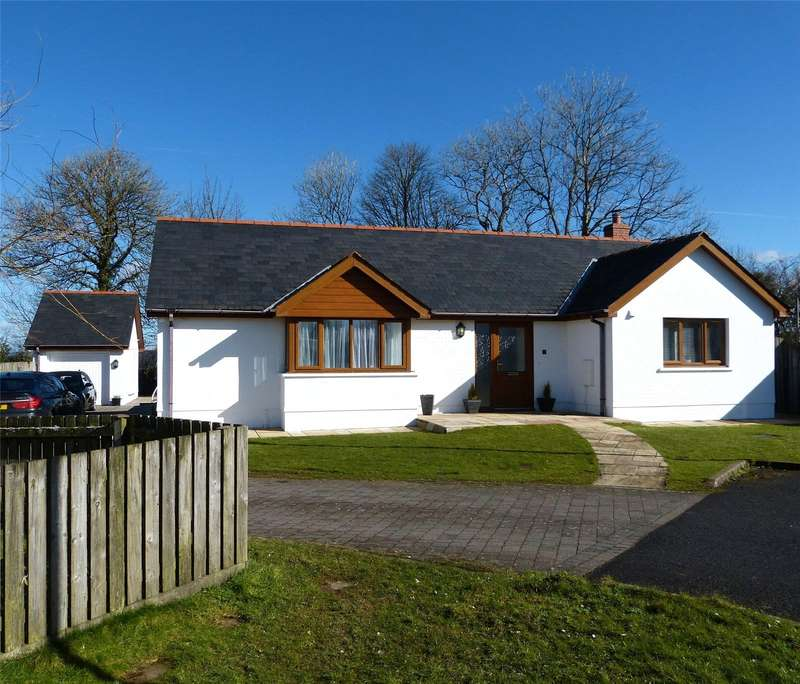 3 Bedrooms Detached Bungalow for sale in Windsor Gardens, Cold Blow, Narberth