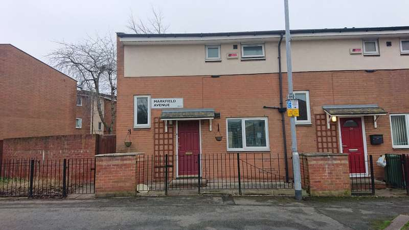 2 Bedrooms Semi Detached House for sale in Markfield Avenue, Manchester, Greater Manchester, M13