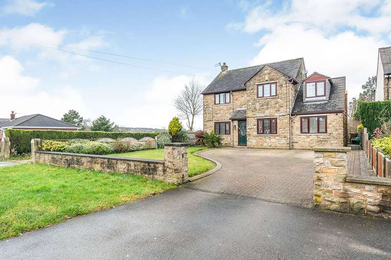 4 Bedrooms Detached House for sale in Orrell Road, Orrell, Wigan, Greater Manchester, WN5