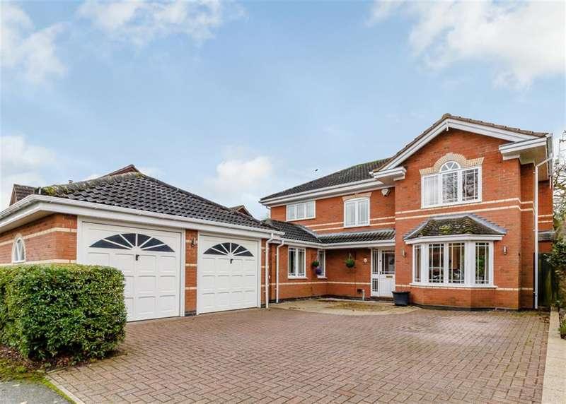 4 Bedrooms Detached House for sale in Boningale Way, Dorridge, Solihull, B93 8SF