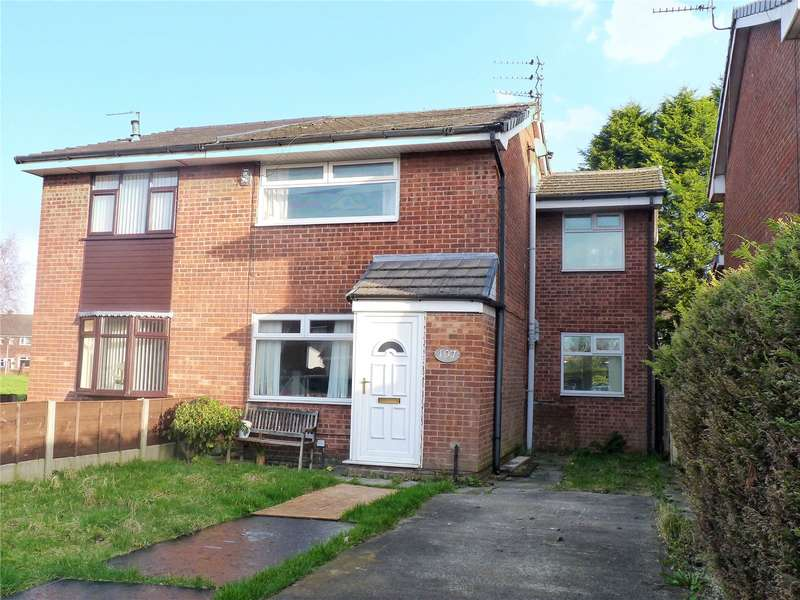 3 Bedrooms Semi Detached House for sale in Andover Avenue, Alkrington, Middleton, Manchester, M24