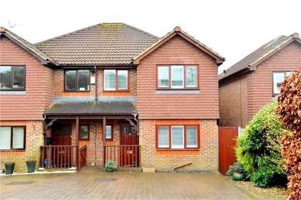 3 Bedrooms Semi Detached House for sale in 42 Dynes Road, Kemsing, SEVENOAKS, Kent
