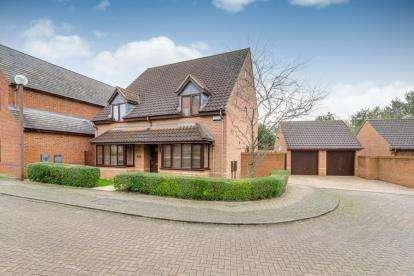 5 Bedrooms Detached House for sale in Hugh Parke Close, Loughton, Milton Keynes, Buckinghamshire