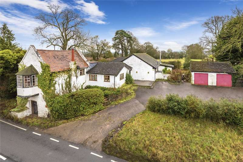 4 Bedrooms Detached Bungalow for sale in The Hundred House, Ludlow Road, Bridgnorth, Shropshire, WV16