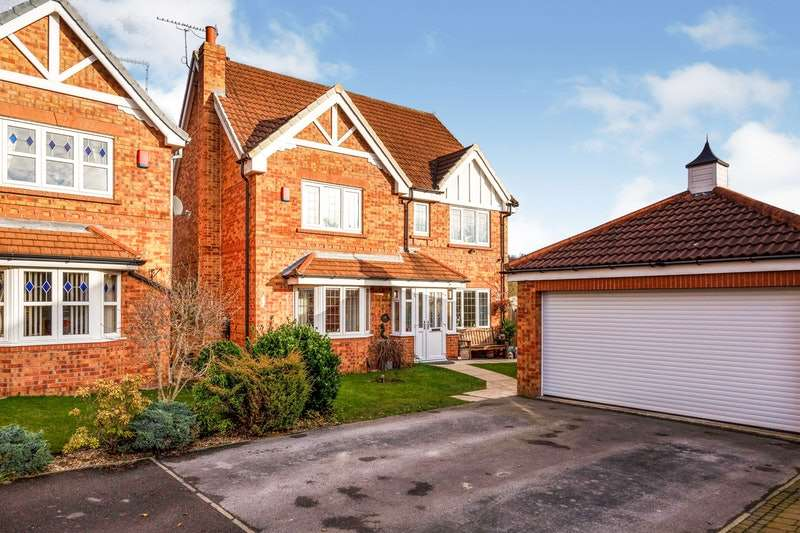 6 Bedrooms Detached House for sale in Shire Oak Drive, Barnsley, South Yorkshire, S74