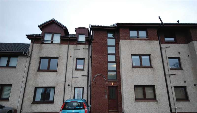 1 Bedroom Apartment Flat for sale in Springvale Court, Saltcoats