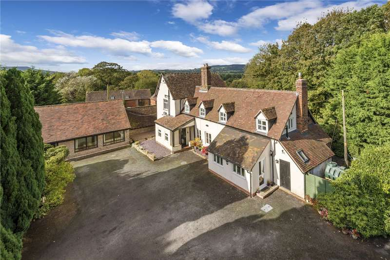 5 Bedrooms Detached House for sale in Lower Duddlewick House, Stottesdon, Shropshire, DY14
