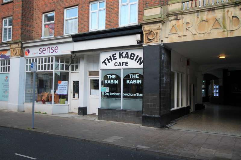 Commercial Property for sale in Town Centre Cafe, Clacton on Sea
