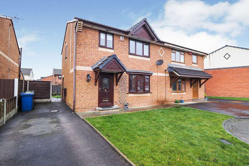 3 Bedrooms Semi Detached House for sale in Bankside Avenue, Radcliffe, Manchester, Greater Manchester, M26