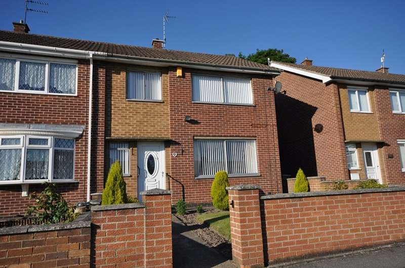 3 Bedrooms Semi Detached House for rent in Danes Close, Arnold NG5