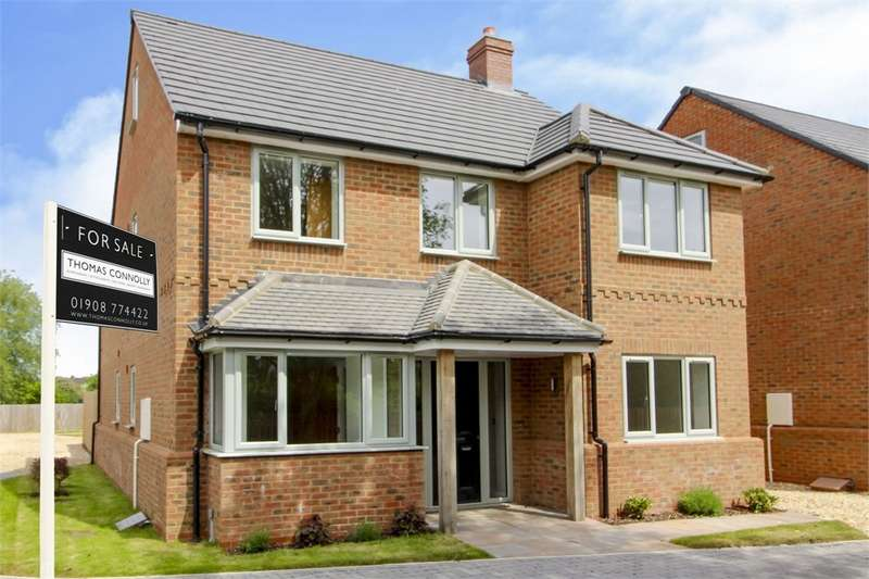 5 Bedrooms Detached House for sale in Cook Close, Morteyne Meadows, Marston Moretaine, Bedford