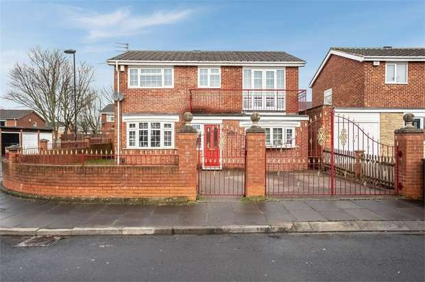 5 Bedrooms Detached House for sale in Catton Place, Wallsend, Tyne and Wear