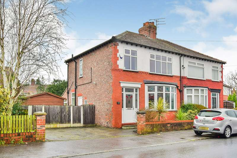 3 Bedrooms Semi Detached House for sale in Grangethorpe Drive, Manchester Burnage, Greater Manchester, M19