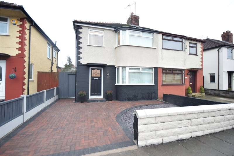 3 Bedrooms Semi Detached House for sale in Pitville Avenue, Mossley Hill, Liverpool, L18
