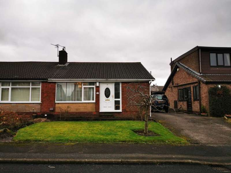 2 Bedrooms Bungalow for sale in Charnwood Close, High Crompton, Shaw