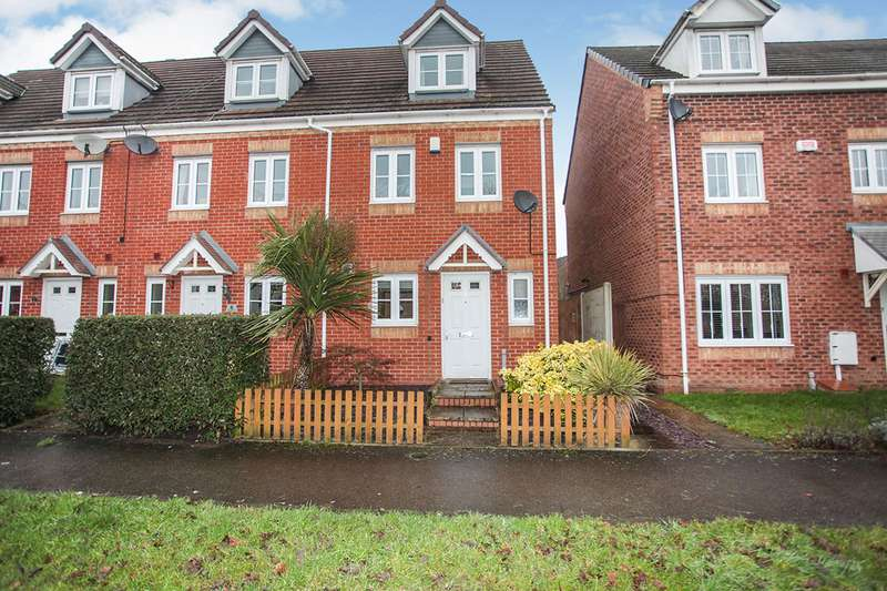 3 Bedrooms End Of Terrace House for sale in Marigold Walk, Nuneaton, CV10